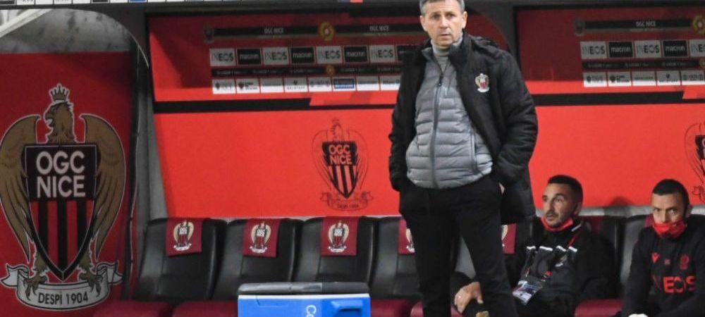 Echipa lui Adrian Ursea, eliminata din Cupa Frantei de milionarii de la AS Monaco! Care este parcursul in campionat al lui Nice