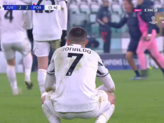 Cristiano Ronaldo, DAT AFARA DIN Champions League: Juventus 3-2 Porto! Dortmund, egalata in final: 2-2 cu Sevilla! Dubla Haaland! Porto si Borussia sunt in sferturi!