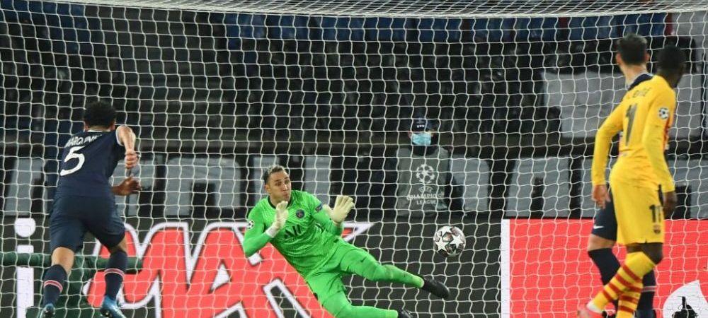 """Eroul lui PSG impresioneaza! """"Stiu ca trece prin momente dificile!""""Cui ii dedica Keylor Navas parada de la penalty-ul lui Messi"""