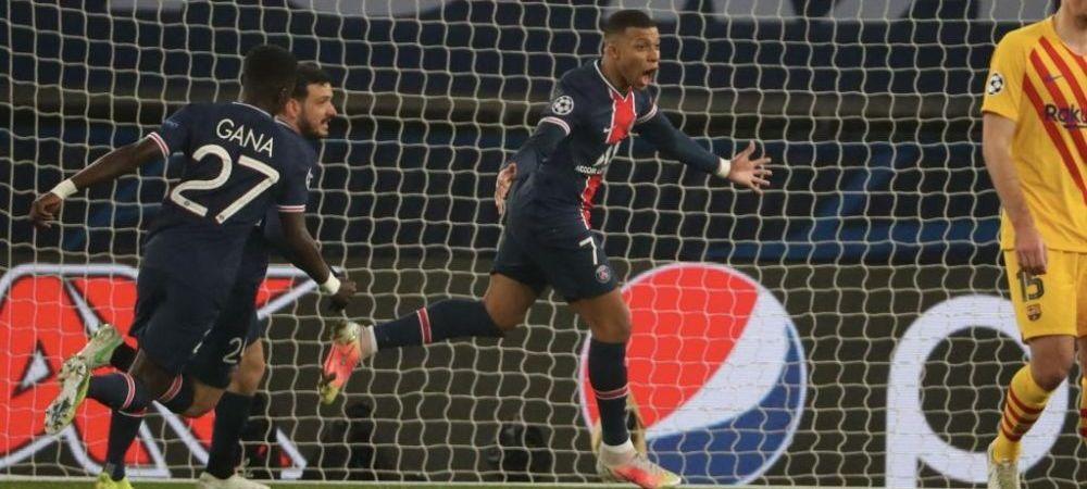 Prima REACTIE a lui Mbappe dupa ce l-a SCOS pe Messi din Champions League! Ce a postat starul lui PSG