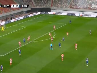 VIDEO   Gol de pe alta planeta reusit in Europa League! Jucatorul lui Arsenal a rupt plasa cu un sut formidabil