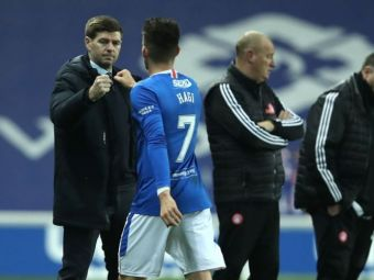 """Hagi poate prinde transferul vietii! """"Este un jucator excelent! L-ar putea urma pe Gerrard acolo!"""" Ianis, laudat dupa ce a devenit campion cu Rangers"""