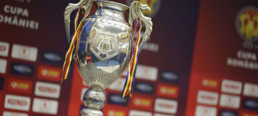 Cand are loc tragerea la sorti a meciurilor din semifinalele Cupei Romaniei! Anuntul de ultima ora al FRF