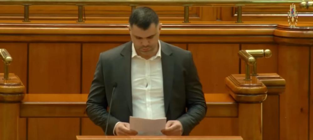 "Deputatul Daniel Ghita a avut un discurs socant in Parlament: ""Aceste fantome ne urmareste si ne otraveste!"" Ce a putut sa spuna fostul luptator"