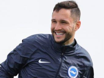 Florin Andone, aproape de revenirea pe terenul de fotbal dupa accidentarea groaznica de anul trecut! Ce spune antrenorul lui Brighton