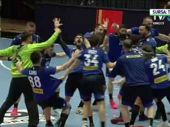 Rusine NATIONALA! Romania a pierdut la Bucuresti cu 30-25 in fata Kosovo! Nu am mai fost la Euro de handbal masculin din 1996