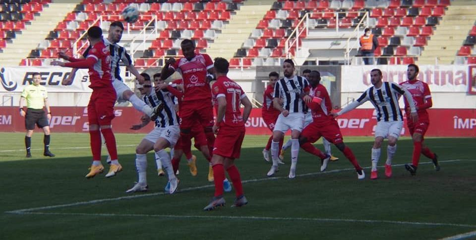 Astra s-a impus la Buzau in fata Chindiei cu 1-0. Singurul gol al jocului a fost marcat de Raspopobic in minutul 74.