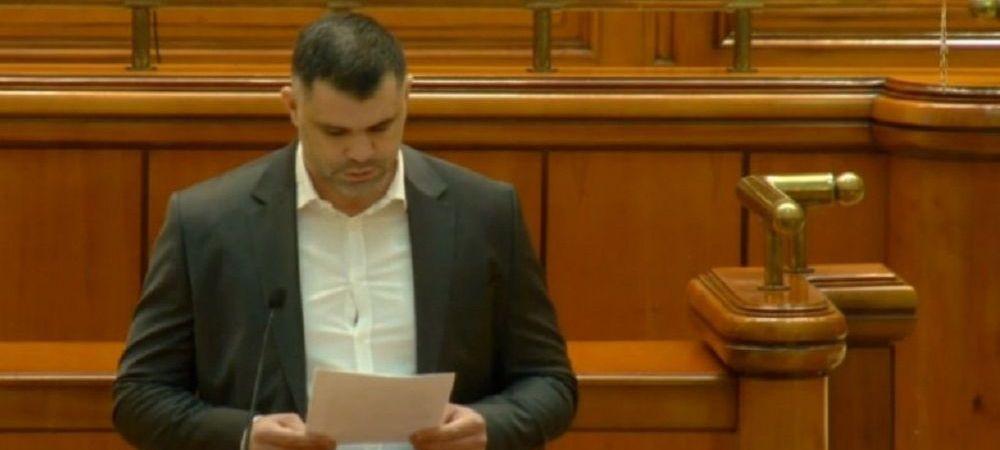 """""""Nimeni nu moare cu zile din cauza mea!"""" Prima reactie a lui Daniel Ghita dupa discursul HALUCINANT din Parlament"""