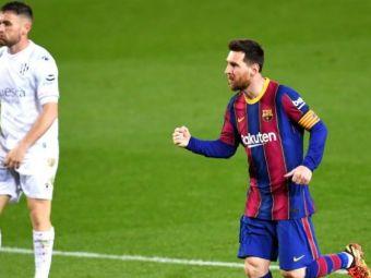 Messi este pur si simplu IMPOSIBIL de oprit! Starul argentinian a stabilit doua recorduri greu de depasit dupa meciul cu Huesca!