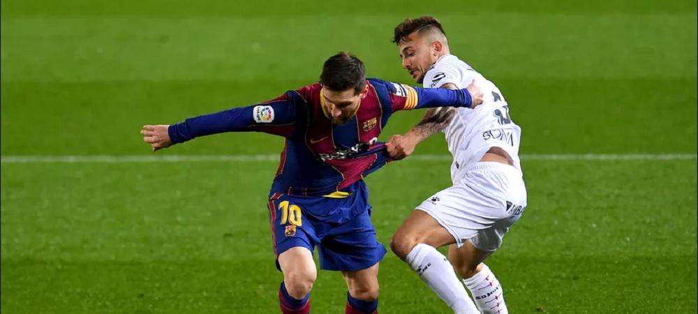 """Parca joaca in 12 oameni cand e Messi pe teren!"" Declaratia INCREDIBILA a unui jucator de la Huesca dupa infrangerea in fata Barcelonei"