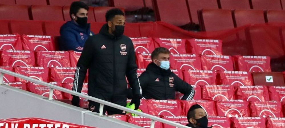 Aubameyang a fost lasat pe banca de rezerve de Arteta dupa ce a intarziat la derby-ul cu Tottenham! Unde a fost surprins fotbalistul inaintea meciului
