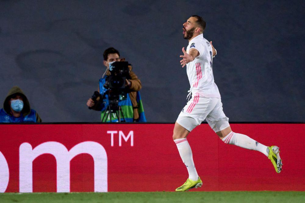 Benzema, alaturi de COLOSII fotbalului dupa golul cu Atalanta! Atacantul francez a intrat in ISTORIA Champions League