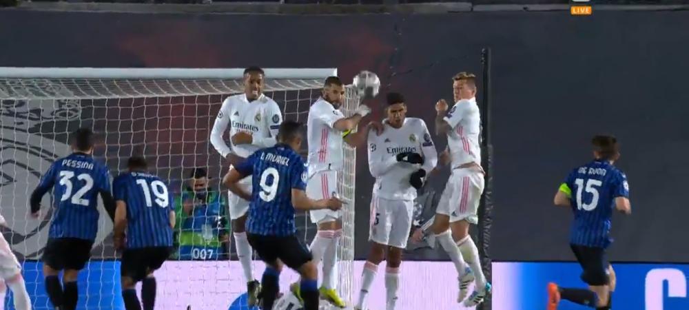 Nici Courtois nu a avut ce sa ii faca! Muriel de la Atalanta s-a transformat in Messi si a batut perfect o lovitura libera! Video cu executia columbianului