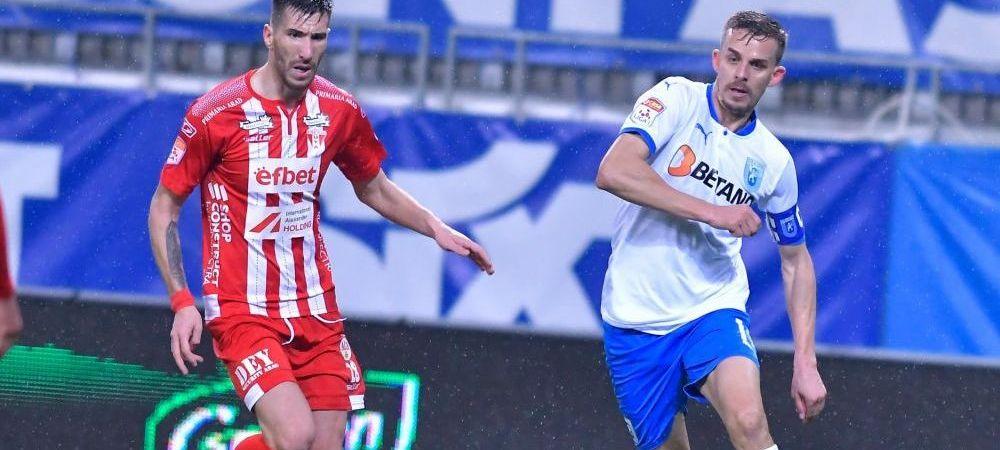 Craiova a pierdut unul dintre cei mai importanti jucatori pentru duelul cu FCSB! Ouzounidis nu il va putea folosi pe Bancu in meciul ros-albastrii
