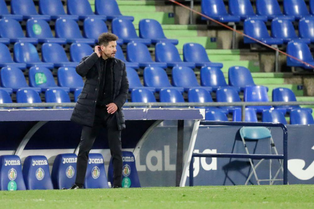 Atletico Madrid nu se regaseste in 2021! Echipa lui Simeone poate pierde toate trofeele, dupa ce a inceput dezastruos anul