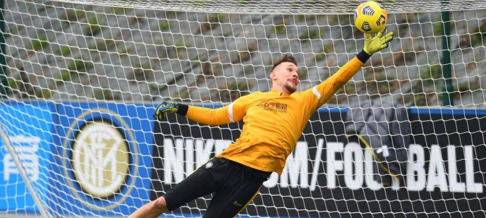 EXCLUSIV | FCSB vrea sa il imprumute pe Ionut Radu! Ce sanse are Becali ca sa il ia de la Inter Milano