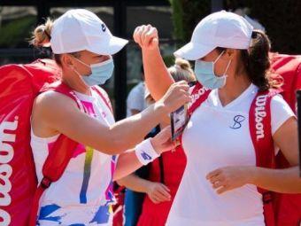 """Reactia Simonei Halep cand a aflat ca Monica Niculescu va antrena echipa de Fed Cup a Romaniei: """"Nu este colaborare.""""   Ce spune despre barajul cu Italia"""