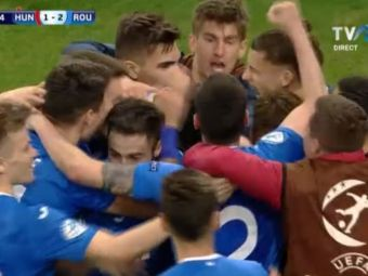 DAAAA, AM BATUT UNGARIA! UNGARIA 1-2 Romania la Euro U21  GOOOOOL PASCAAAANU in minutul 86! Sa vina Germania! AICI sunt fazele meciului