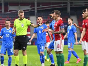 """""""Au fost topoare, nu atingeri! Arbitrul a fost ostil, rauvoitor!"""" Reactii dure dupa arbitrajul din partida Romaniei de la Euro U21! """"Ii trebuie un consult medical"""""""