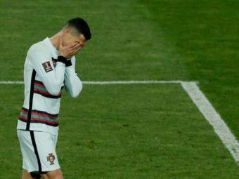 """Ronaldo e CRITICAT DUR in Portugalia dupa ce a iesit de pe teren in meciul cu Serbia: """"Este inacceptabil pentru un capitan de nationala! Nu poate sa faca asta!"""""""