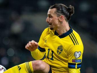 Schema desprinsa din artele martiale cu care Zlatan Ibrahimovic a atras toate privirile in meciul din Kosovo! VIDEO: cum a pasat suedezul