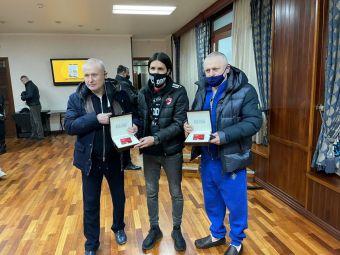 Membri DE LUX in DDB dupa meciul cu Dinamo Kiev! Patronii miliardari ai clubului din Ucraina au intrat in programul fanilor