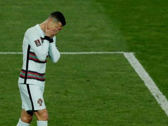 """Ronaldo, ironizat de un jucator al lui Manchester United dupa golul nevalidat cu Serbia! """"E pe linie. Se vede clar acum?"""""""