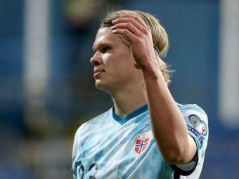 Haaland a coborat cu picioarele pe pamant! :) Recordul negativ inregistrat de starul Borussiei dupa meciurile de la nationala Norvegiei