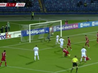Cicaldau si Bancu au facut show cu nationala Armeniei in 10 minute, dar nu a fost de ajuns! Primele goluri pentru mijlocasul oltenilor