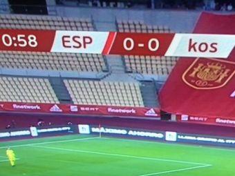 Situatie fara precedent in fotbal! Nationala lui Kosovo, umilita in Spania la meciul din preliminarii! Ce s-a intamplat