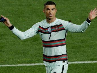 Furia lui Ronaldo salveaza vieti! Suma incredibila pentru care a fost vanduta la licitatie banderola pe care capitanul Portugaliei a aruncat-o de nervi