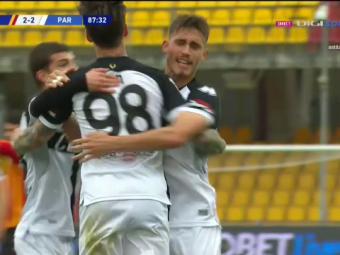 Benevento 2-2 Parma | Man, GOOOL pentru Parma in minutul 88! Reluare superba a romanului! A trecut pe langa victorie in prelungiri