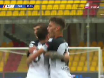 """Man a luat cea mai mare nota de la Parma dupa golul cu Benevento! """"E cel mai bun din atac. A inscris un gol superb si a salvat echipa!"""""""