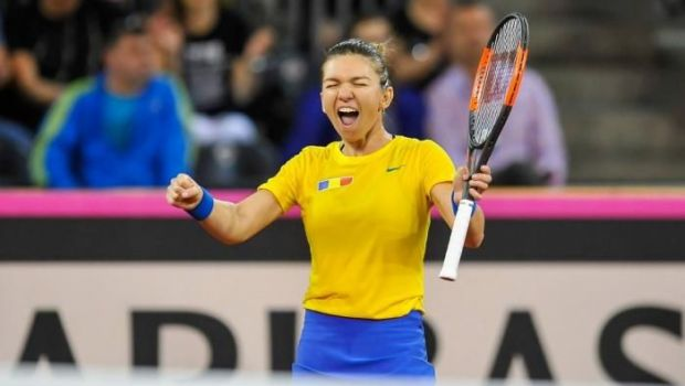 """Simona Halep, palmares impecabil in Fed Cup! N-a mai pierdut un meci de simplu din 2016: """"Simt presiunea, dar daca oamenii asteapta doua puncte de la mine, inseamna ca ma cred capabila!"""""""
