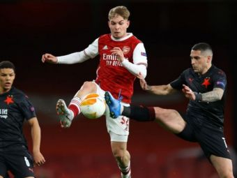 Stanciu, unul dintre cei mai buni jucatori ai Slaviei Praga in meciul cu Arsenal! Ce nota a primit romanul dupa remiza de pe Emirates