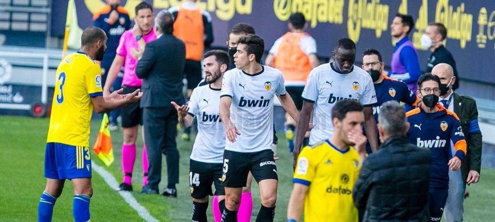 Verdict in scandalul de la Cadiz - Valencia! Ce se va intampla cu Juan Cala dupa ce Diakhaby l-a acuzat ca l-a abuzat rasial