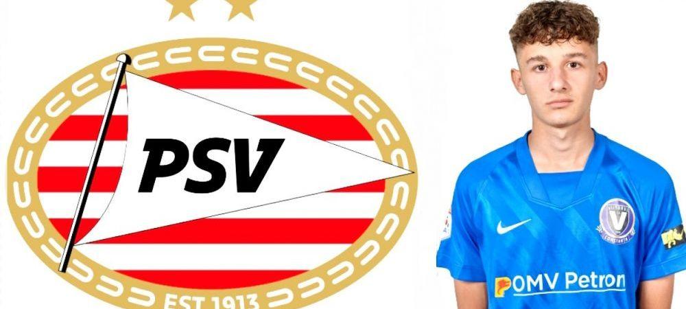 EXCLUSIV   Fiul lui Gica Popescu ii poate calca pe urme tatalui sau! Nicolas este urmarit de PSV Eidhoven