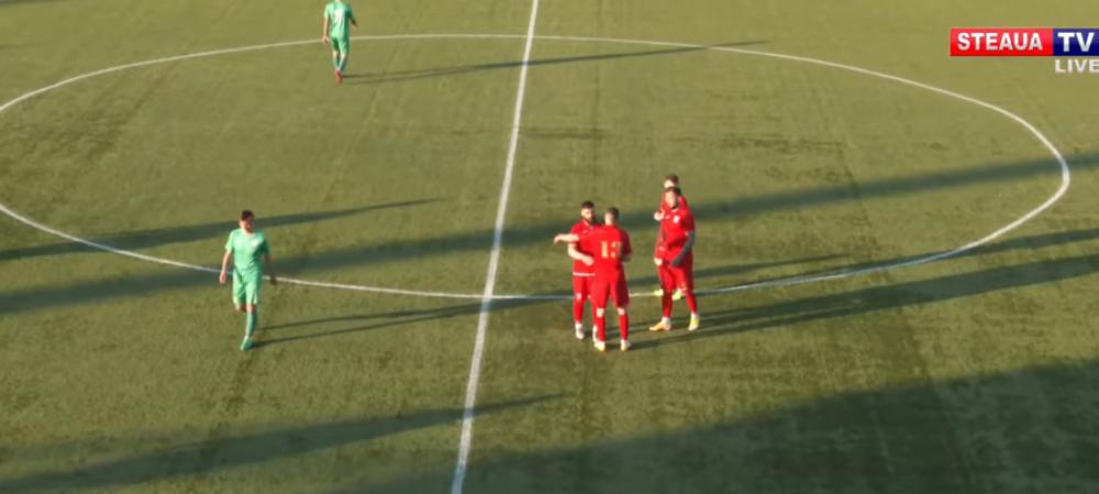Concordia II 0-5 Steaua| Gol fantastic marcat de Zaharia. Steaua e prima in razboiul cu FCSB 2! Cum arata clasamentul