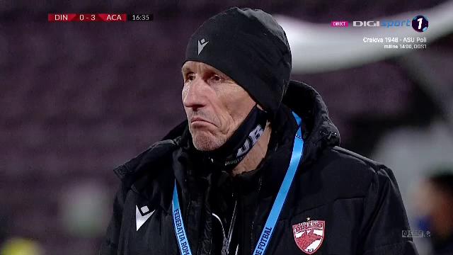 Reactia fabuloasa a lui Gigi Multescu dupa golul mondial primit direct din corner de la Moulin! Ce a facut antrenorul lui Dinamo la marginea terenului