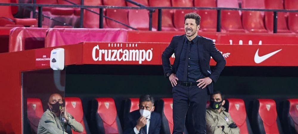 O lasa Simeone pe Atletico pentru Serie A?!Spaniolii anunta ca un club urias din Italia e pe urmele antrenorului