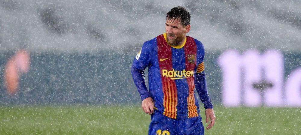 Messi l-a atentionat pe arbitru in timpul meciului! Ce i-a zis starul Barcelonei si ce record negativ a stabilit in fata rivalilor de la Real