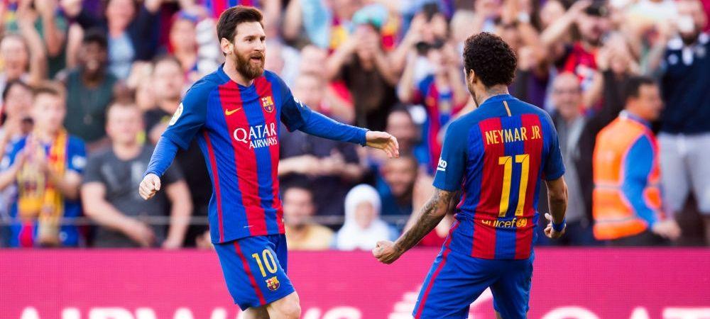 """Planul surpriza care i-ar putea aduce pe Messi si Neymar din nou impreuna la Barcelona! """"PSG o sa-l vanda in aceasta vara"""""""