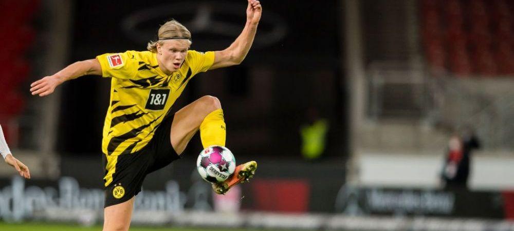 """Decizia luata de oficialii Borussiei in cazul lui Haaland! """"Avem o strategie clara!"""" Unde ar vrea sa joace 'masinaria de goluri' din Bundesliga"""