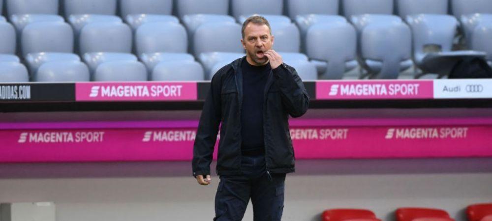 Hansi Flick, in conflict cu sefii lui Bayern! Cu ce super antrenor sunt gata acestia sa-l inlocuiasca