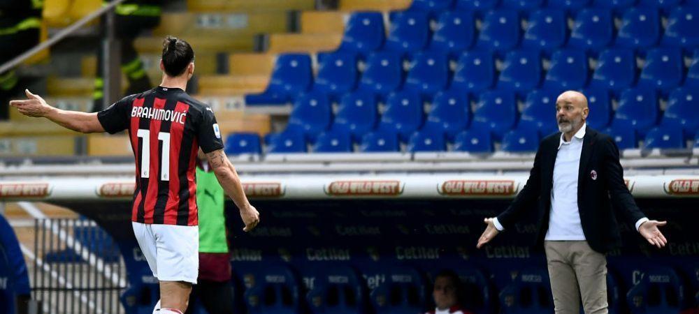 Decizie suprinzatoare a Comisiei de Arbitri din Italia in cazul lui Ibrahimovic! Cat va fi suspendat si ce s-a intamplat cu arbitrul
