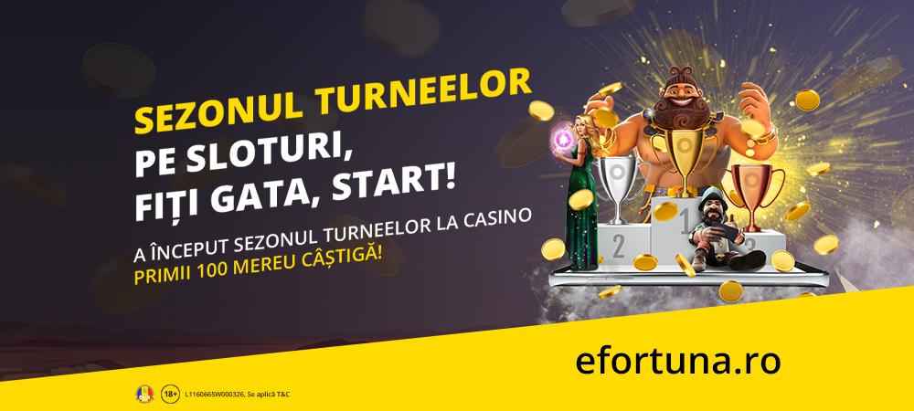 (P) Unic în România! Toată luna aprilie joci la turnee cu premii garantate, în cazinoul online