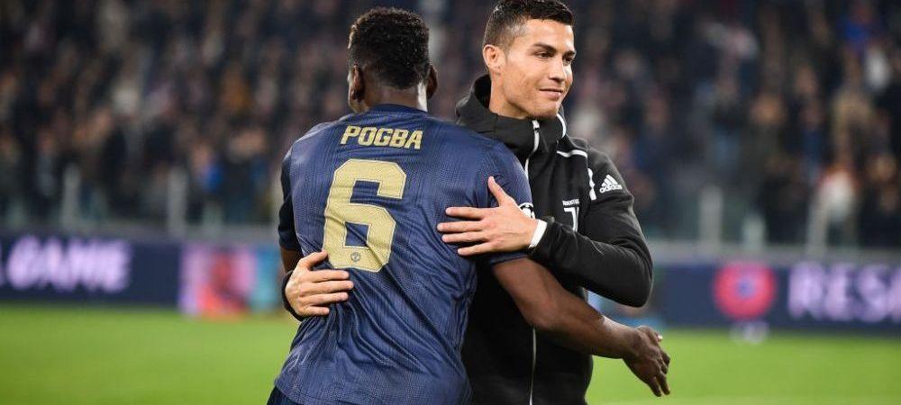 Presa din Italia arunca bomba! Se pregateste schimbul verii in fotbalul mondial! Cristiano Ronaldo ar putea reveni la Manchester United la schimb cu Pogba