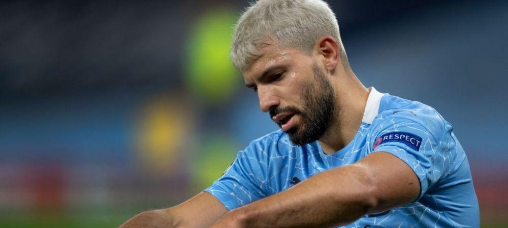 Guardiola l-a lasat pe Aguero in afara lotului pentru Champions League! Anunt de ultima ora al lui Manchester City