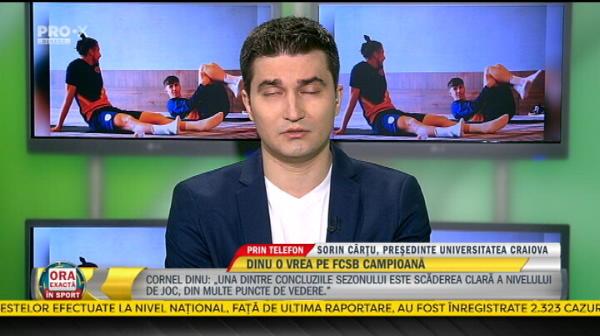 """EXCLUSIV   """"Putem realiza anul asta ce nu am reusit anul trecut!"""" Oficialii Craiovei, optimisti inainte de startul playoff-ului"""
