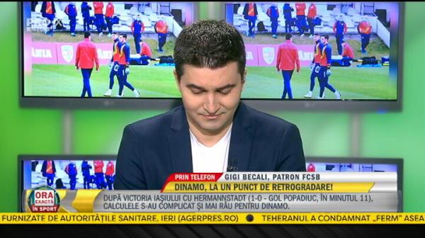 """EXCLUSIV   Atac incredibil al lui Gigi Becali la adresa lui Edi Iordanescu! """"Nu a recuperat el nimic, arbitrii au recuperat punctele!"""" Ce spune de arbitraje"""